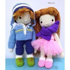 Instagram photo by lydiawlc - My Crochet Doll (no. 3 & 5) @ a GiLR & a BoY