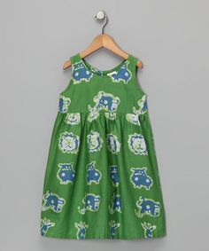 Take a look at this Lime Dress - Infant, Toddler & Girls by Global Mamas on #zulily today!