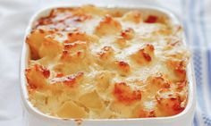 Full of flavour with a quick white sauce, and a hint of lemon and cheese. Just serve with petits pois or home-grown beans. A great change from the classic fish pie.