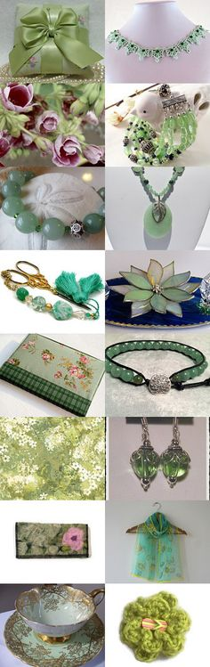 Green Eyed Lady by Pamela Baker on Etsy--Pinned with TreasuryPin.com #greengiftguide