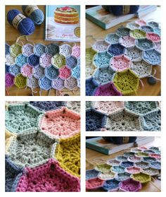 Annie's Place: Honeycomb crochet and Historic Oxford