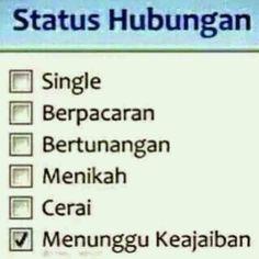 Status Hubungan Quotes Lucu, Jokes Quotes, Funny Quotes, Memes, Feminist Quotes, Quotes Indonesia, News Songs, Best Quotes, Haha