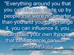 Everything around you that you call life was made up by people that were no smarter than you and you can change it, you can influence it, you can build your own things that other people can use. ~ Steve Jobs https://www.facebook.com/OrganicWeightlossTransformationChallenge/ I am giving away FREE $50 Gift Cards to use on ANY Purium Product! To Redeem Your FREE $50 Gift Card Enter Gift Card Code LovingGreens at http://mypuriumgift.com/