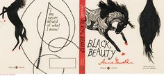 Black Beauty -- Penguin Threads Deluxe Classics by Jillian Tamaki #embroidery #books
