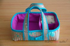 Mama Love Quilts: A Finished Social Tote