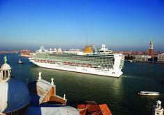 P&O Azura #Azura #PandO #Venice #Italy #cruise