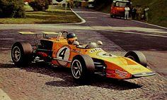 Ronnie Peterson - March 712M Cosworth FVA - Smog March Engineering - XIX Grand Prix de Rouen-les-Essarts - 1971 European Trophy for Formula 2 Drivers, round 6