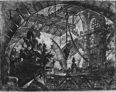 Giovanni Battista Piranesi | Piranesi, Giovanni Battista: Carceri d' invenzione (Erfundene Kerker ...
