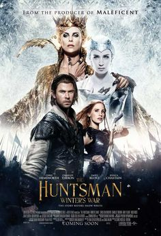 CAST: Sam Claflin, Chris Hemsworth, Emily Blunt, Jessica Chastain, Charlize Theron, Sophie Cookson, Nick Frost, Colin Morgan, Ralph Ineson, Sheridan Smith, Alexandra Roach, Jonathan Buckhouse, Rob Bry