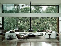 love the oversized windows