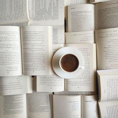 Books and coffee is the best combination <3