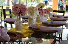 casamento rosa azul e amarelo