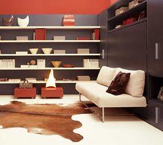 Convertable Murphy Bed / Sofa.   Adam | Queen Beds | Resource Furniture