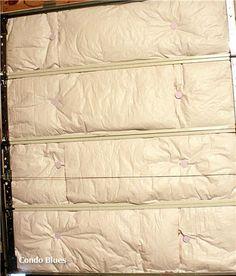 Garage door insulation cuts energy bills and street noise. Here's How To Insulate A Garage Door Man Cave Garage, Garage House, Garage Bar, Garage Shop, Car Garage, Diy Projects For Beginners, Easy Diy Projects, Project Ideas, Wood Projects