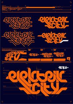 Elektrik City logo. by machine56.deviantart.com on @deviantART