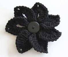Crocheted Croco-Flower