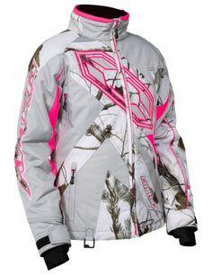 df5675a0f2de8 Castle Launch Realtree G3 Womens Ladies Snowmobile Snow Winter Jacket  Outerwear Snowmobile Clothing, Womens Snowmobile