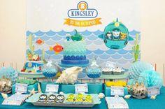 Octonauts Themed Birthday Party with Lots of Great Ideas via Kara's Party Ideas KarasPartyIdeas.com #octonautsparty #partydecor #partyideas ...
