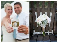 Wedding Bouquet With Burlap
