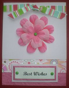 Handmade Greeting Cards  Best Wishes by DoireannCody on Etsy, €2.00