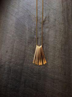 Pompon Goldfill petit ventilateur déco collier-par boucle bijoux-argent à pompon - goldfill rose-frange collier-art déco-collier-minimaliste