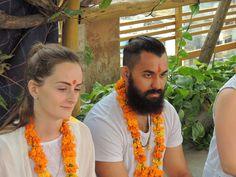 Yoga ttc ceremony pics 2015 at An association for yoga and Meditation (Aym) in Rishikesh, India.