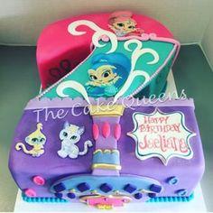 Shimmer & Shine 2nd Birthday Cake - Yelp