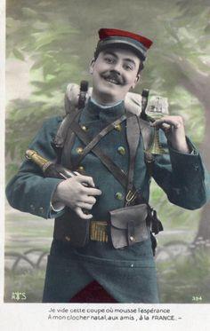 WWI French Postcard.