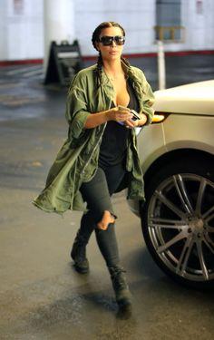 Kim Kardashian et Kanye West : stylés et complices pour une sortie en famille avec North West !