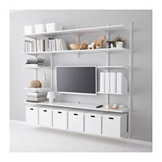 IKEA - ALGOT, Guida da parete/ripiani, Gli elementi della serie ALGOT si possono combinare in molti modi diversi, così puoi adattare la…