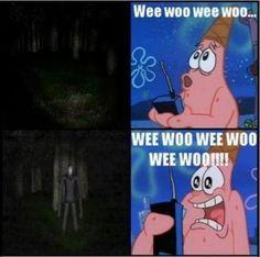 Spongebob slenderman