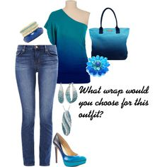 A fashion look from May 2014 featuring J Brand jeans, Jessica Simpson pumps and Armani Exchange tote bags. Browse and shop related looks.