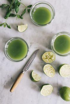grønne juiceshots