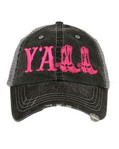 Katydid Women s Y all Trucker Hat - Hot 7ca32c00fdfe