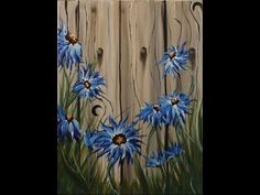 Acrylic Painting For Beginners #MooreMethod - YouTube
