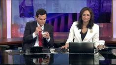 TV anchor caught eating breakfast on air