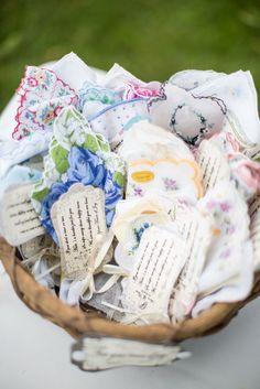 A Basket of Handkerchiefs