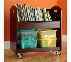 """I""""m going to be working from home soon, and since I don't have a home office, this will make a nice portable spot for all my office files/books. I think Chris's dad can make this for me too, at a much cheaper price."""