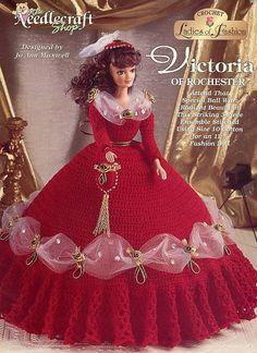 Victoria von Rochester Needlecraft Shop häkeln Mode Puppe