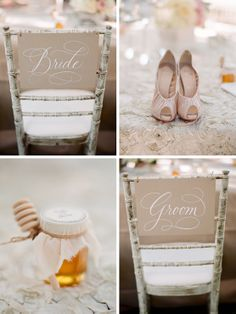 Wedding shoes. Neutral palette. Beautiful. Kiss The Groom.