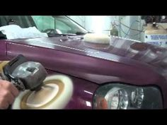 DIY Paint your car at home Wet Sand n Buff....