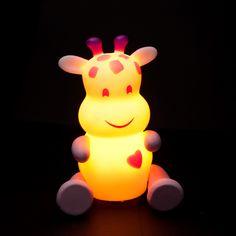pabobo 'savanoo giraffe' night light
