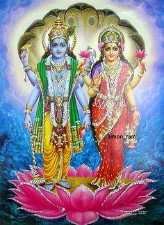 Vishnu and Laskhmi Maa Krishna Avatar, Krishna Hindu, Hindu Deities, Hare Krishna, Shree Krishna Wallpapers, Lord Vishnu Wallpapers, Reiki Meditation, Shiva Shakti, Durga Maa