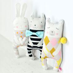 new-softies-polarbear-cat-bunny-by-PinkNounou-1
