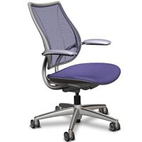 Standard Features:              Self-Adjusting Recline        Intelligent counter-balance recline mechanism automatically provides the right amount of support through the full range of recline motion, regardless of user size and weight        No tension springs to adjust        No recline locks to set/release        During recline, the angle between torso and legs opens up for better body function        User maintains near constant eye level during recline.