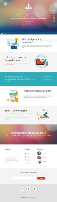 Web Studio Joomla Template on Behance
