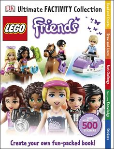 Booktopia has Lego Friends Ultimate Factivity Collection, With More Than 500 Stickers by DK. Buy a discounted Paperback of Lego Friends Ultimate Factivity Collection online from Australia's leading online bookstore. Dk Books, Lego Books, Drawing Activities, Book Activities, Reading At Home, Hobbies And Interests, Quiz, Lego Friends, Books To Buy