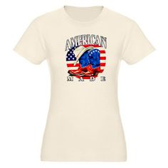 Cool Artsmith, Inc. Organic Womens Fitted T-Shirt American Made Country Cowboy Boots and Hat