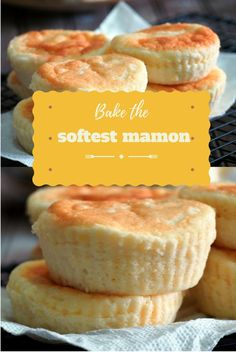 This post guides you to bake the softest homemade mamon in your kitchen. Filipino Dishes, Filipino Desserts, Asian Desserts, Filipino Recipes, Easy Desserts, Filipino Food, Pinoy Recipe, Hawaiian Recipes, Individual Desserts