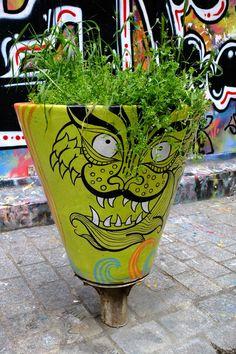 street art - Paris 20 - rue Dénoyez